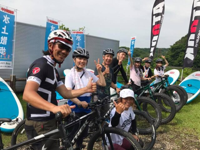 ファットバイク&SUPコラボツアー 最終日!!