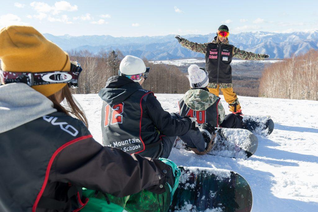 マウントジーンズスノーボードスクール