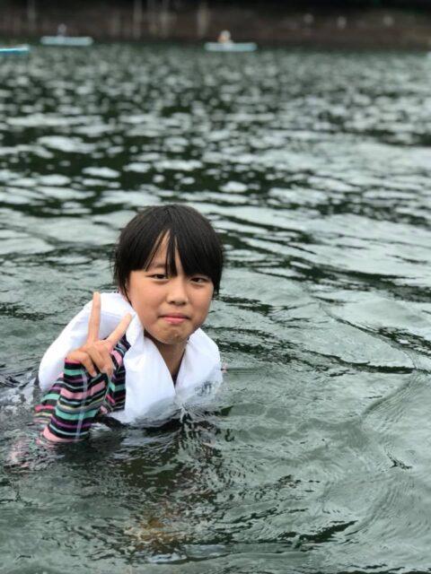 台風後の青空SUP!