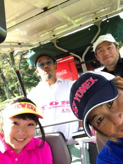 大会の片付け~からのゴルフ!!