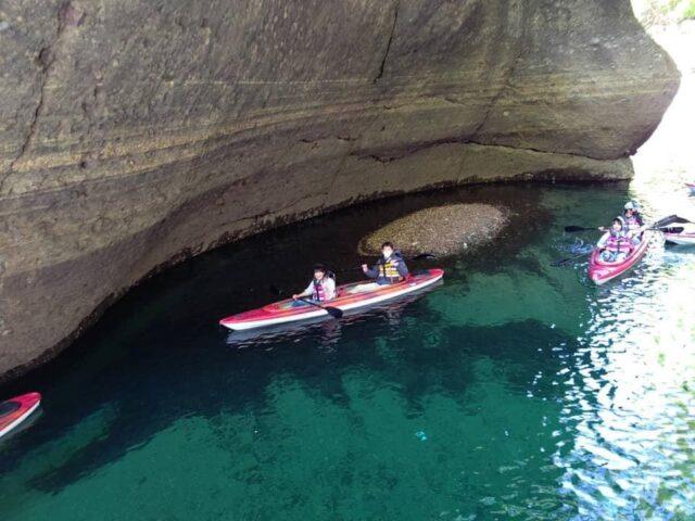 カヌー体験