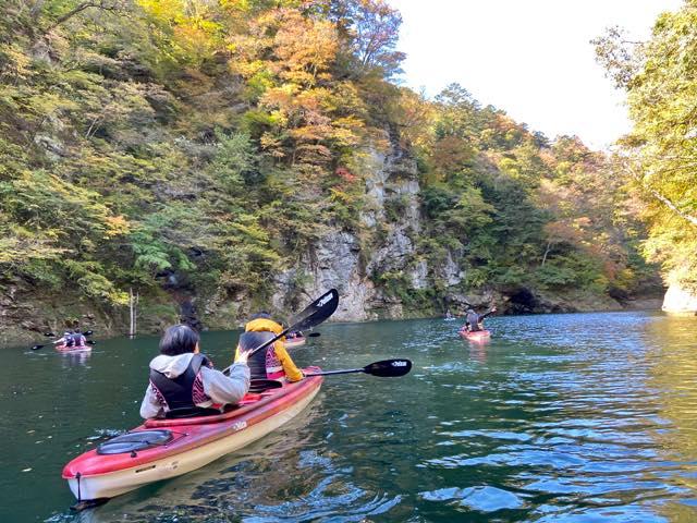 塩原渓谷探検ツアー わんちゃんも一緒にカヌー体験♪